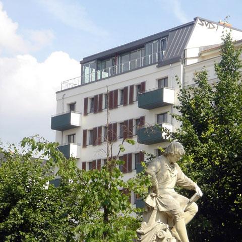 Umbau und Ergänzung Wohn- und Atelierhaus Kollwitzstr Berlin