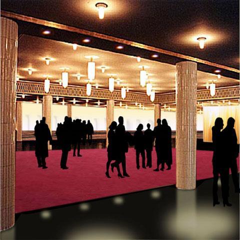 Umbau Publikumbereich Oper Leipzig